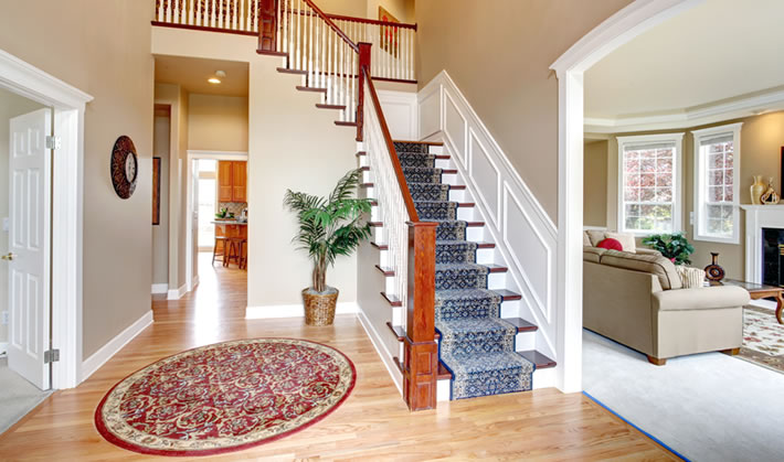 Staircase and Runner Rug Cleaning