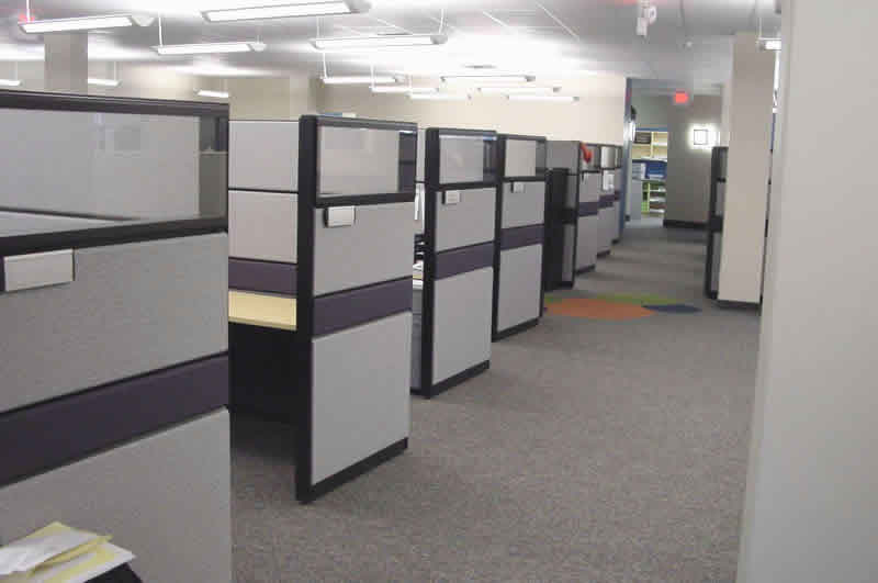 Fabric Office Partitions : Office cubicle fabric panel cleaning lafrance